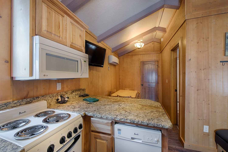 Brundage Bungalows: Cabin 2 - kitchen