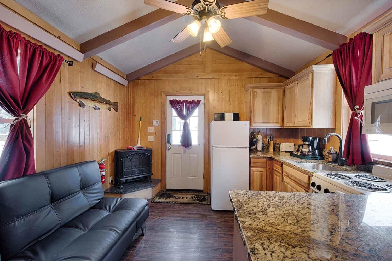 Brundage Bungalows: Cabin 2 - living