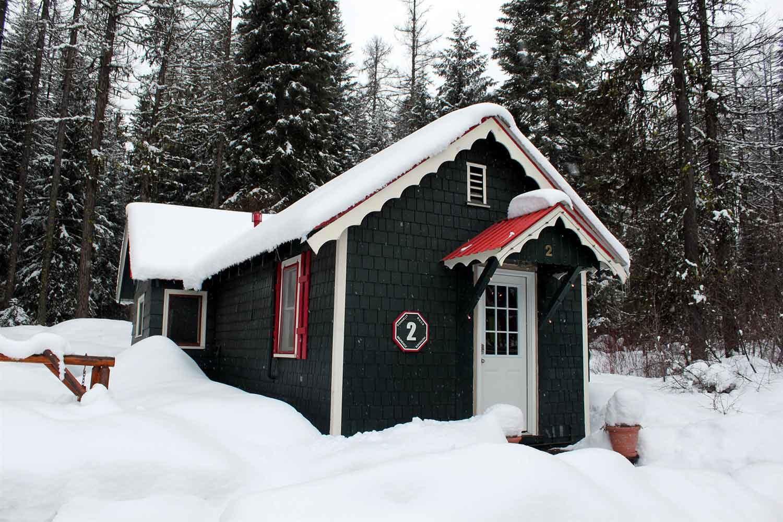 Brundage Bungalows: Cabin 2 - winter